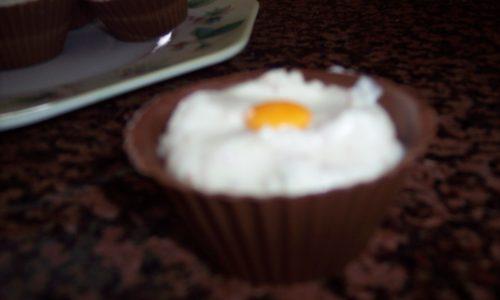 Cestino al doppio cioccolato