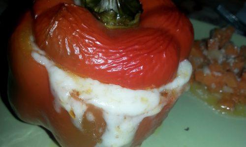Peperoni ripieni…un trionfo di colori