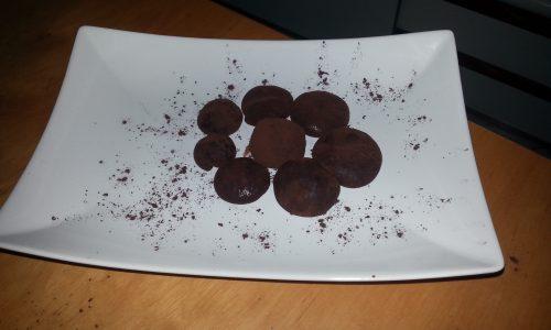 Brigadeiros al cioccolato fondente