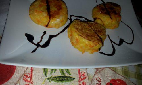 Crocchette di patate e carote